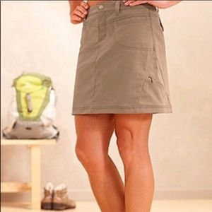 [Athleta] NEW! Khaki dipper hiking skort 6Tall